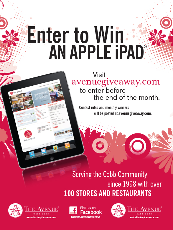 The Avenues: Enter to Win a Free iPad!
